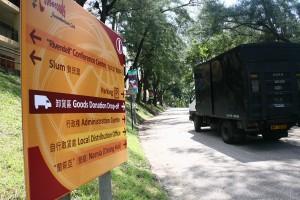 Goods Donation Truck