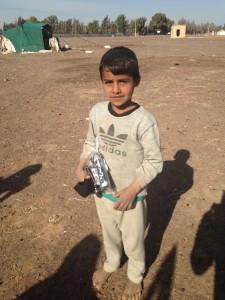 Distribution to refugees in Jordan (1)