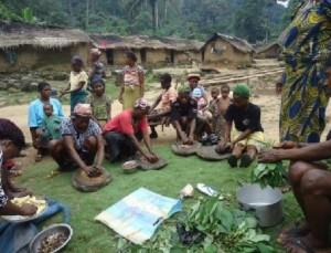 Women cooking class