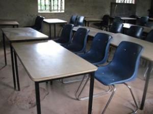 Uganda school chairs