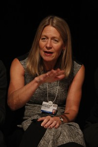 Jasmine Whitbread, CEO of Save the Children, participated in the Struggle for Survival.