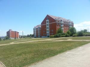 The new university Crossroads helped furnish.