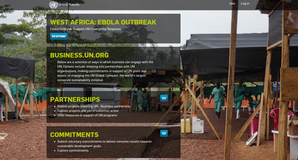 Ebola 2014 UN