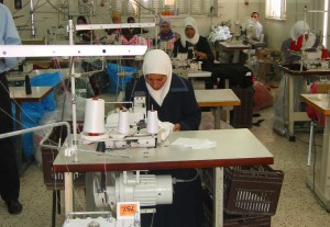 Bethlehem's tailors told us they could not supply goods regularly as the uncertainty of war meant they could not guarantee getting goods to port: one more component of Bethlehem's deep unemployment.
