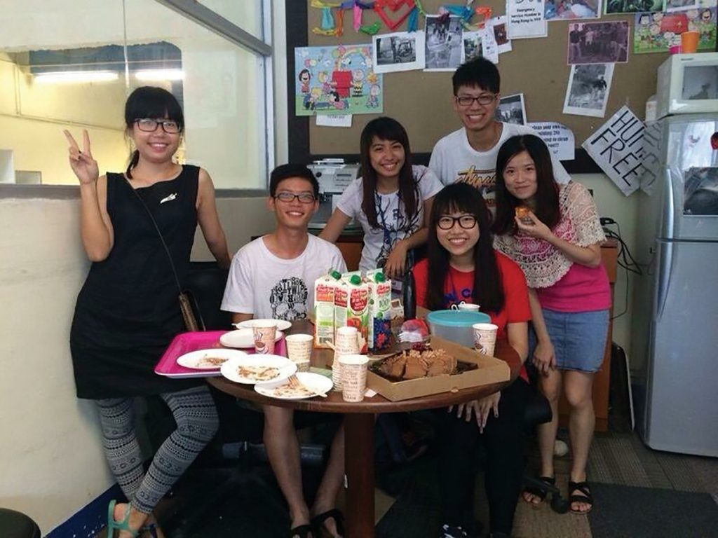 Former Crossroads intern supports Hong Kong's hungry