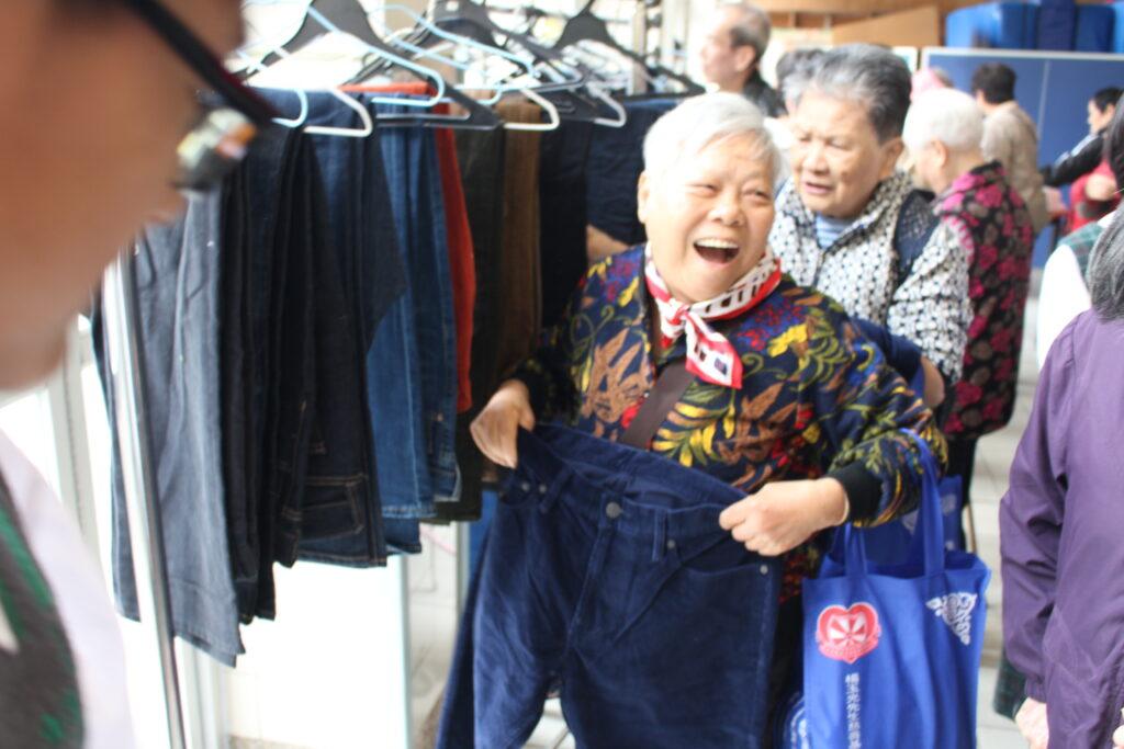 A winter blessing for Tuen Mun elderly
